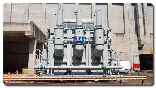 WEG confirms strong presence in the retrofiting of large Transformer for COPEL in Brazil
