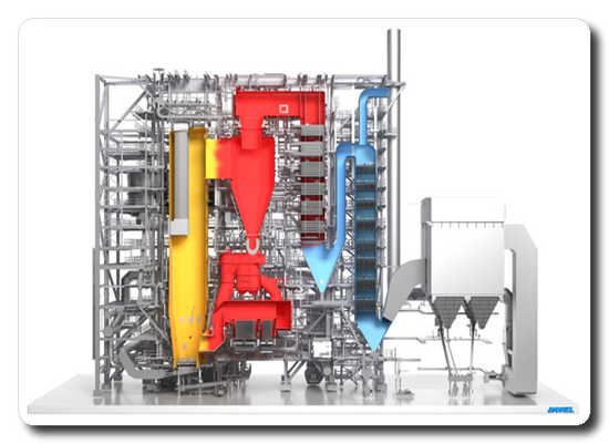 ANDRITZ to supply another high-efficiency PowerFluid circulating fluidized bed boiler with biomass firing in Japan