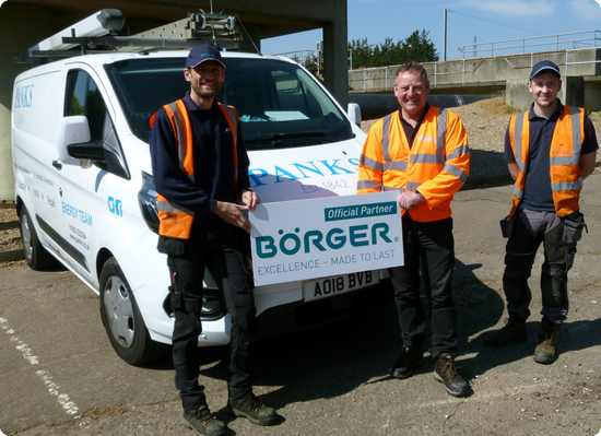 Panks for the Partnership with Borger Pumps